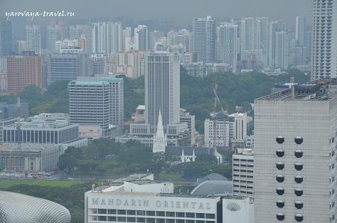 городские небоскребы