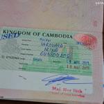 Виза ран в Камбоджу из Бангкока.