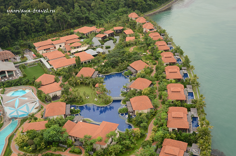 На острове тоже можно остановиться в отличных отелях
