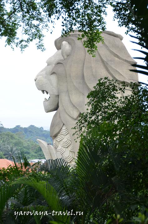 Мерлион - символ Сингапура