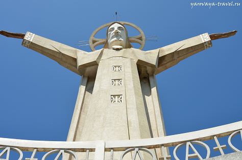 Статуя Иисуса Христа в Вунгтау
