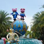 Сиам парк в Бангкоке. Взросло-детский рай.