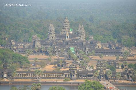 Ангкор Ват с высоты птичьего полета