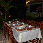 Ужин с кхмерами.