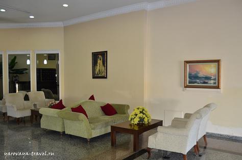 В отеле уютно