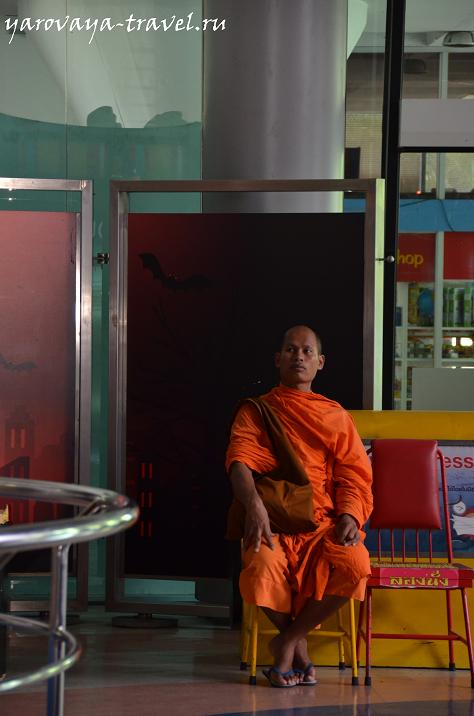 Монахам здесь тоже нравится