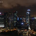 Марина Бей Сандс в Сингапуре: вид с небесного парка.