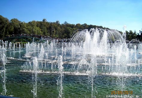 парк царицыно фонтаны