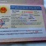 Виза во Вьетнам: получение, продление, стоимость.