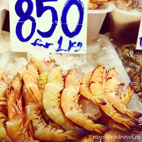 рыбный рынок на пхукете