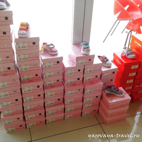 где купить обувь в анталии
