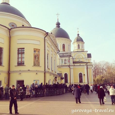 монастырь матроны московской