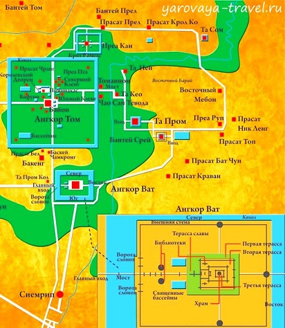 Храмы Ангкора.
