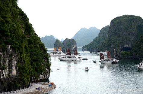 вьетнам бухта халонг фото