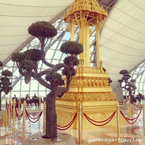 суварнабхуми аэропорт бангкок