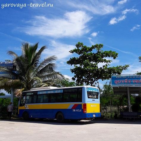 Автобус №3 на автостанции.