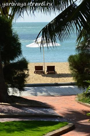Пляжный отдых в Фанранге.