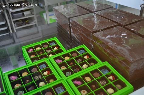 шоколадная фабрика в нячанге
