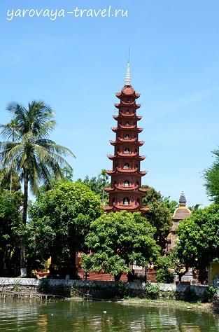пагода чан куок в ханое