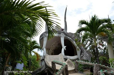 храм и лабиринт дракона нячанг