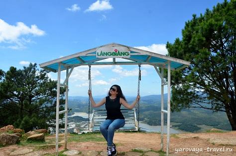 гора лангбианг далат