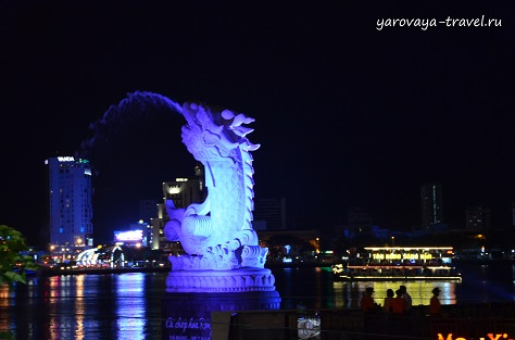 вьетнам дананг мост дракона