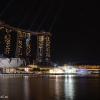 Лазерное шоу в центре Сингапура: мыльные пузыри и огонь вам гарантированы!