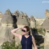 Гереме, Турция: смотровая площадка с панорамным видом на всю Каппадокию.