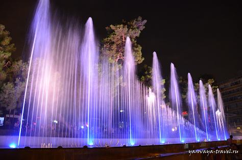 фонтаны в Анталии
