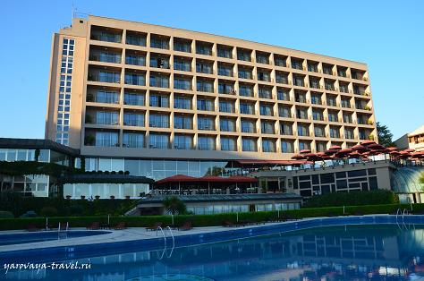 Наш отель в Стамбуле