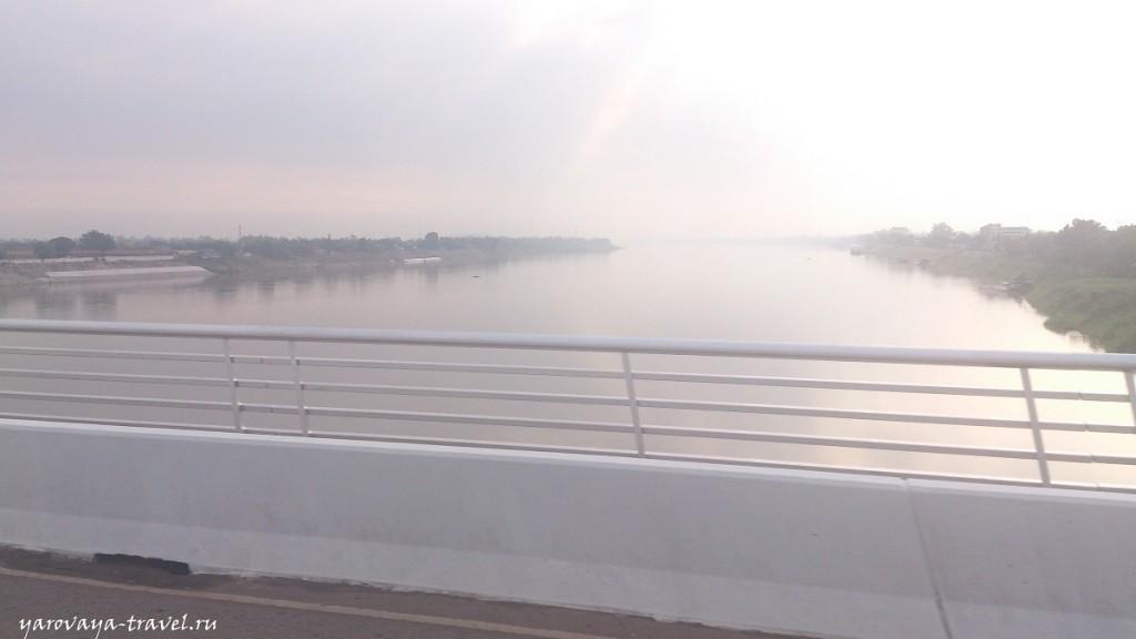 Мост Дружбы через Меконг