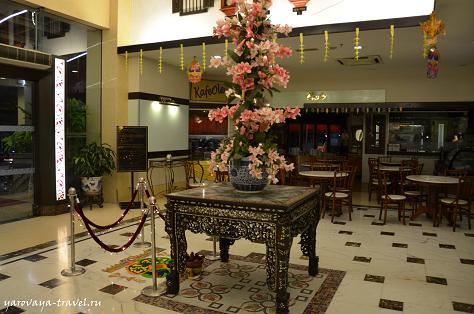 Отель в азиатском стиле