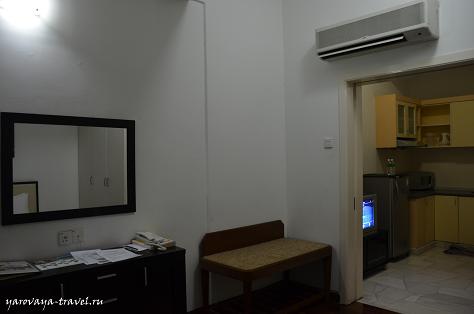 Вторая комната с кухней