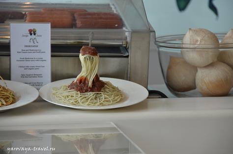 Летающая вилка со спагетти