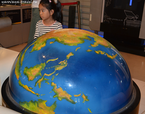 Дети изучают планеты