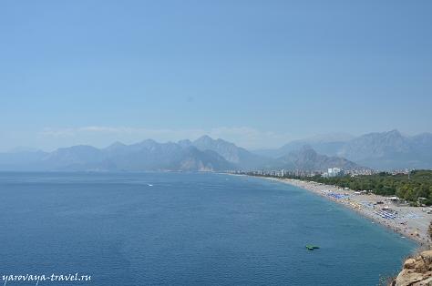 Анталия. Коньяалты. Море и горы.