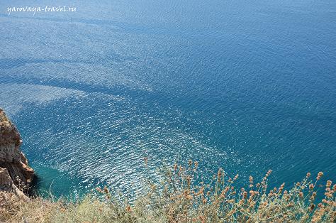 Чистая вода Средиземного моря