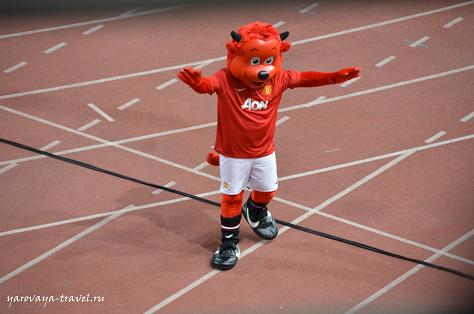 """Мишка - """"Красный дьявол"""""""
