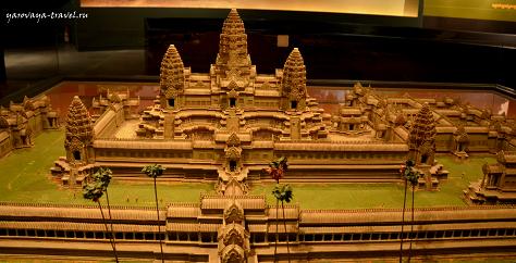 Ангкор национальный музей в Сием Рип
