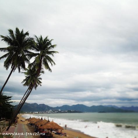 Пляж в Нячанге.