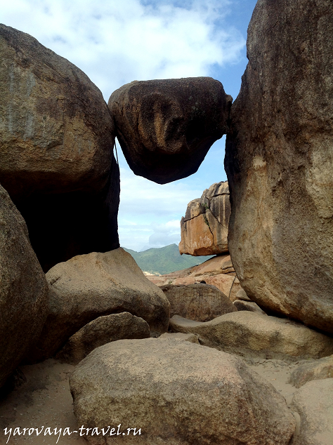 сад камней нячанг