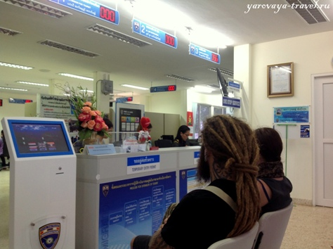 тайская виза продление