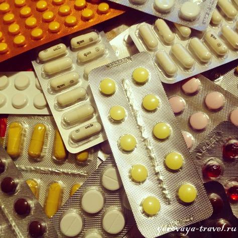 аптечка в путешествии