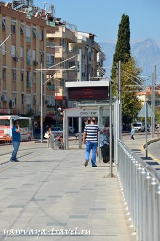 общественный транспорт анталии