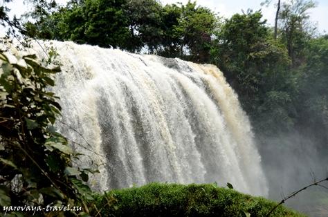 Слоновий водопад.