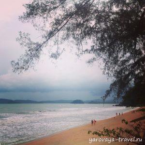 Пляж Ноппарат Тара.