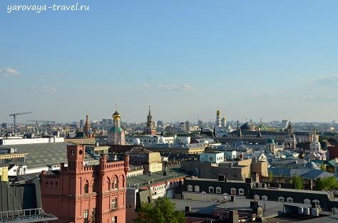 смотровые площадки москвы