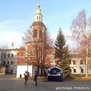 Даниловский монастырь в Москве.