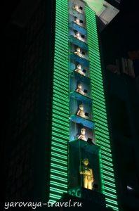 Театр кукол на воде в Ханое.