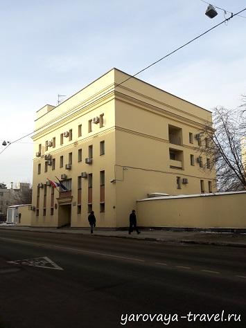 Здание Посольства Королевства Таиланд в Москве.
